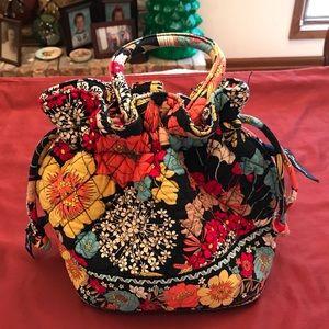 Vera Bradley Drawstring Small Emma Bag